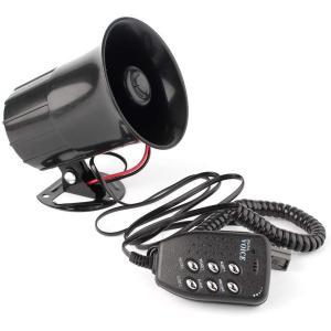 6種サウンド内蔵 車 バイク 12V用 サイレンホーン サイレン拡声器 大音量 警告音 ラウドスピーカー(送料別商品) yleciel