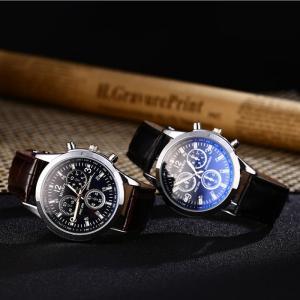 腕時計 時計 レディース アナログクォーツウォッチ #28456 文字盤ブルー おしゃれ シンプル (定形外郵便、代引不可、送料別商品)|yleciel