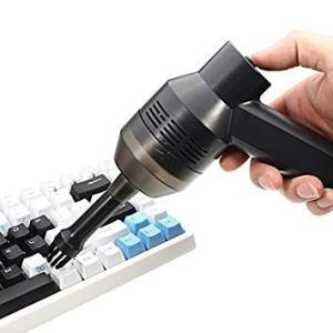 ミニクリーナー USB 卓上ブラシ PCキーボード掃除機 ノートパソコン キーボード クリーナー(定形外郵便、代引不可、送料別商品)