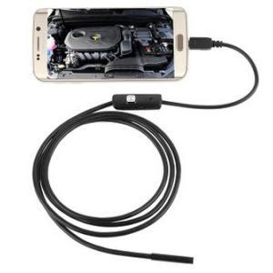 防水 フレキシブルカメラ 忍者カム 《1.5m》 micoUSB 排水溝 パイプライン 車 整備 検査 カメラ ファイバースコープ (定形外郵便、代引不可、送料別商品)|yleciel