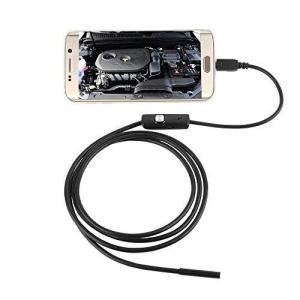 探偵 カメラスコープ 1m 水溝 パイプライン 隙間 車 整備 検査 カメラ ファイバースコープ AP50-10(定形外郵便、代引不可、送料別商品)|yleciel