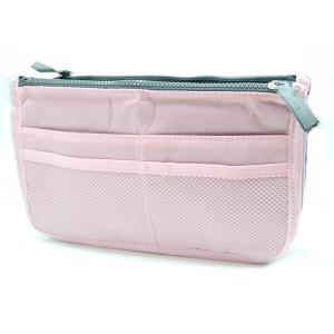 バッグインバッグ2/バックインバック 小物 収納 バック 《ピンク》(ゆうパケット、代引不可、送料別商品)|yleciel