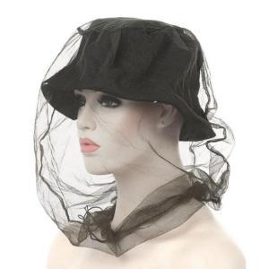 虫よけ ヘッドネット 防虫ネット 虫除け 蚊よけ 網 ガード 帽子(定形外郵便、代引不可、送料別商品)|yleciel