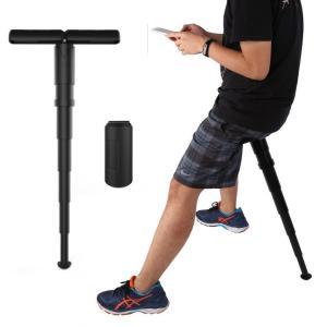 ポータブル ポケットイス モバイルチェア 携帯イス スタンディング 折りたたみ椅子 軽量 持ち運び(送料別商品) yleciel