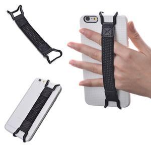 スマホ用 落下防止ベルト iPhone スマートフォン 安全ハンド ストラップ 落下防止 ホールド 携帯(定形外郵便、代引不可、送料別商品)|yleciel
