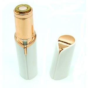 顔剃り ピカフェイス 《ホワイト》 電池式 レディース 電動 フェイス シェーバー 小型 軽量 携帯(定形外郵便、代引不可、送料別商品)|yleciel