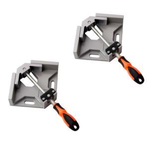 最強コーナークランプ 2台セット 90度 直角クランプ 固定工具 大工 溶接(送料別商品)|yleciel