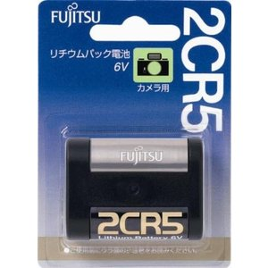 富士通 カメラ用リチウム電池6V 1個パック 2CR5C(B)N(定形外郵便、代引不可、送料別商品)|yleciel
