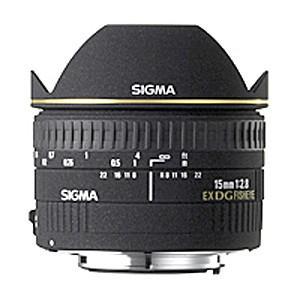 《新品》 SIGMA(シグマ) 15mmF2.8EX DG DIAGONAL FISHEYE(キヤノンマウント)|ymapcamera