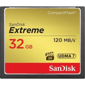 《新品アクセサリー》 SanDisk(サンディスク) Extreme CFカード 32GB SDCFXSB-032G-G46 海外パッケージ版|ymapcamera