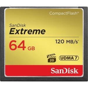 《新品アクセサリー》 SanDisk(サンディスク) Extreme CFカード 64GB SDCFXSB-064G-G46 海外パッケージ版|ymapcamera