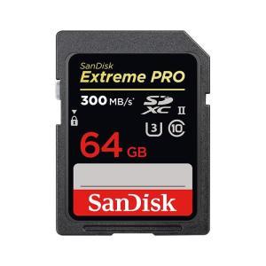 《新品アクセサリー》 SanDisk (サンディスク) ExtremePRO SDXCカード UHS-II 64GB SDSDXPK-064G-GN4IN 海外パッケージ版|ymapcamera