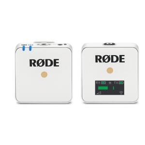 《新品アクセサリー》 RODE(ロード)Wireless GO ホワイト WIGOW|ymapcamera
