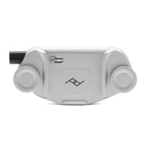 《新品アクセサリー》 peak design (ピークデザイン) キャプチャーカメラクリップ V3 プレート無し シルバー [ ストラップ ]|ymapcamera