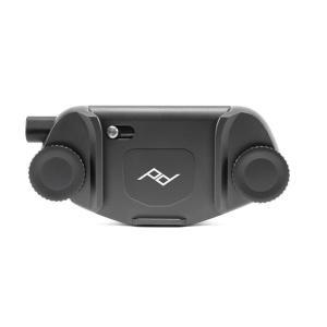 《新品アクセサリー》 peak design (ピークデザイン) キャプチャーカメラクリップ V3 プレート無し ブラック [ ストラップ ]|ymapcamera
