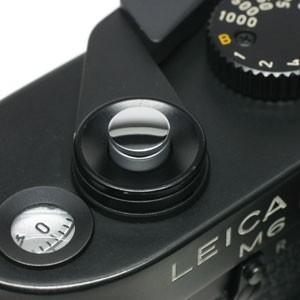 《新品アクセサリー》 MAPCAMERA (マップカメラ) ソフトレリーズボタン 「kleine -クライネ-」 鏡面シルバー(無地)|ymapcamera