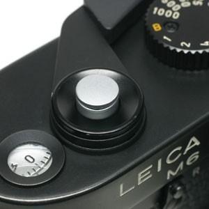 《新品アクセサリー》 MAPCAMERA (マップカメラ) ソフトレリーズボタン 「kleine -クライネ-」 シルバークローム(無地)|ymapcamera