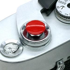 《新品アクセサリー》 MAPCAMERA (マップカメラ) オリジナルMボタン レッド(無地)|ymapcamera