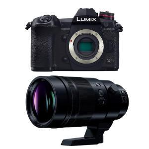 《新品》 Panasonic (パナソニック) LUMIX DC-G9 PRO + LEICA DG ELMARIT 200mm セット【オリジナルバッグ/液晶保護ガラスプレゼント】【キャッシュバック対象】|ymapcamera