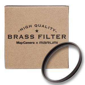 《新品アクセサリー》 MapCamera×marumi BRASS FILTER 46mm ブラック 【真鍮枠プロテクトフィルター】|ymapcamera