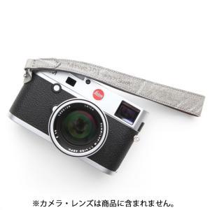 《新品アクセサリー》 MAPCAMERA (マップカメラ) ハンドストラップ MTYPE101 Elephant グレー【特価品/数量限定】|ymapcamera