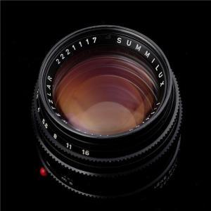 《良品》 Leica ズミルックス M50mm F1.4 オリジナル ブラックペイント ymapcamera