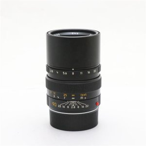 《並品》Leica エルマリート M90mm F2.8 フード組込|ymapcamera