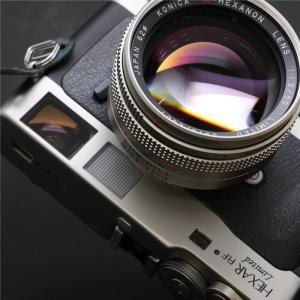 《良品》Konica HEXAR RF Limited + M-HEXANON 50mm F1.2 セット ymapcamera