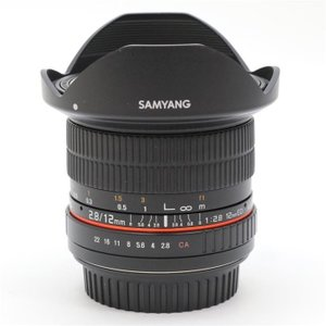 《美品》SAMYANG 12mm F2.8 ED AS NCS Fisheye (キヤノン用)|ymapcamera