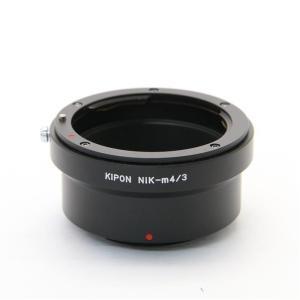 《美品》KIPON マウントアダプター ニコンFレンズ/マイクロフォーサーズボディ用|ymapcamera