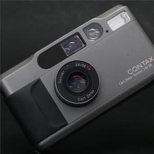《良品》CONTAX T2 (チタンブラック) + DATA BACK T2|ymapcamera