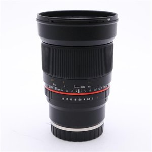 《良品》SAMYANG 16mm F2.0 ED AS UMC CS (SONY E用)|ymapcamera