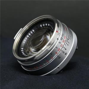 《並品》Leica ズミルックス M35mm F1.4 1st シルバー *フィルター径E41 ymapcamera