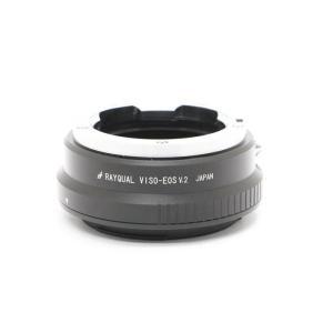 《美品》RAYQUAL マウントアダプター VISO-EOS v.2|ymapcamera