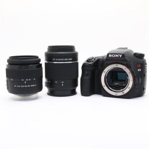 《良品》SONY α65 ダブルズームレンズキット SLT-A65VX (18-55mm II型)|ymapcamera