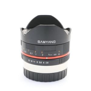 《並品》SAMYANG 8mm F2.8 Fish-eye(フジXFマウント用) ymapcamera