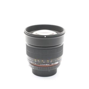 《美品》SAMYANG 85mm F1.4 AS IF UMC(CPU内蔵ニコン用) ymapcamera