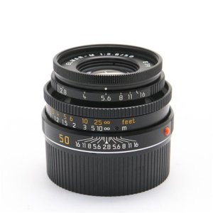 《美品》Leica エルマー M50mm F2.8 沈胴式 ブラック ※最短0.7m|ymapcamera