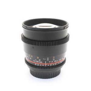 《美品》SAMYANG VDSLR 85mm T1.5 AS IF UMC (キヤノン用) ymapcamera