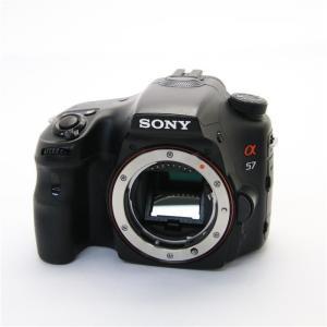 《良品》SONY α57 ボディ SLT-A57|ymapcamera