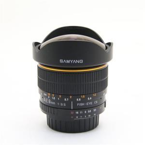 《美品》SAMYANG 8mm F3.5 FISH-EYE(ニコン用)|ymapcamera