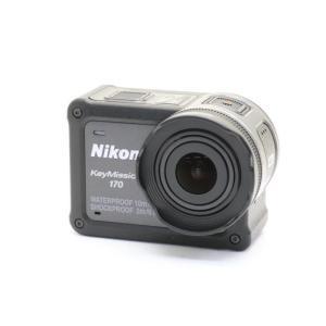 《美品》Nikon KeyMission 170 ブラック ymapcamera