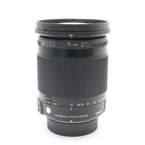 《並品》SIGMA C 18-300mm F3.5-6.3 DC MACRO OS HSM(ニコン用)|ymapcamera
