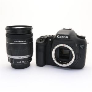 《並品》Canon EOS 7D EF-S18-200 IS レンズキット|ymapcamera