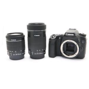 《並品》Canon EOS 70D ダブルズームキット|ymapcamera