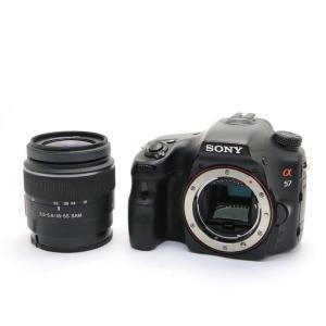 《並品》SONY α57 ズームレンズキット SLT-A57K|ymapcamera