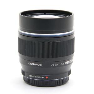 《並品》OLYMPUS M.ZUIKO DIGITAL ED 75mm F1.8 ブラック|ymapcamera