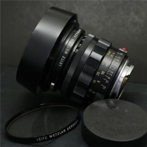 《並品》Leica ノクティルックス M50mm F1.2 (非球面)+専用フード+フィルター付|ymapcamera