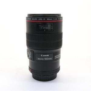 《並品》Canon EF100mm F2.8Lマクロ IS USM|ymapcamera