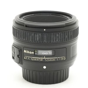 《並品》Nikon AF-S NIKKOR 50mm F1.8G|ymapcamera